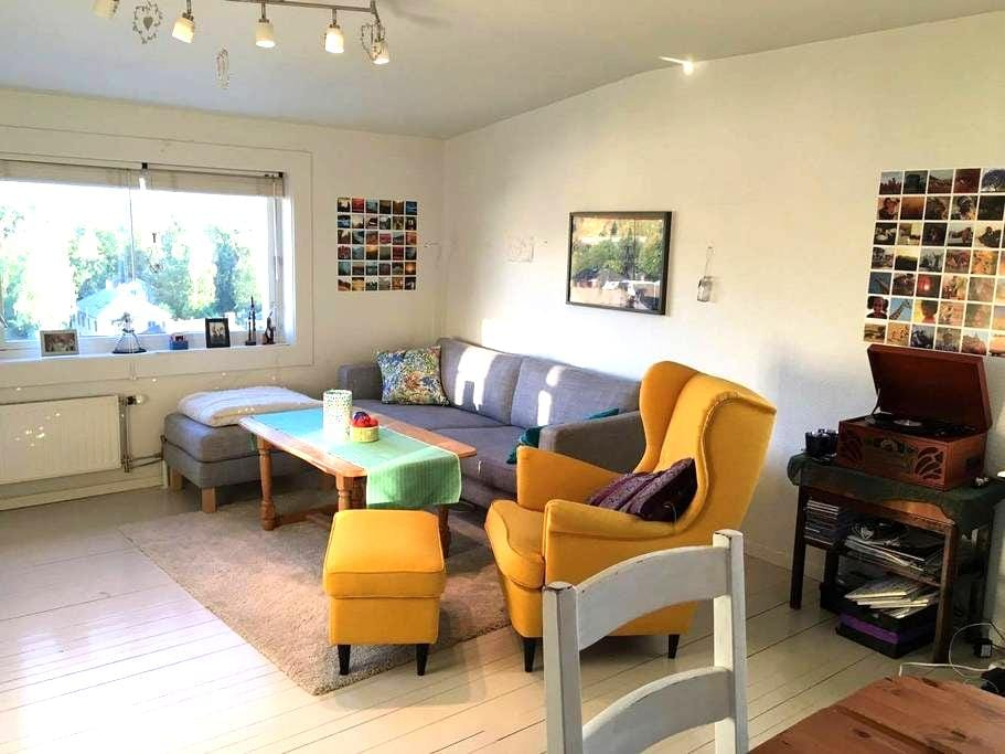 Charming apartment close to centrum and Lerkendal - Trondheim - Appartement