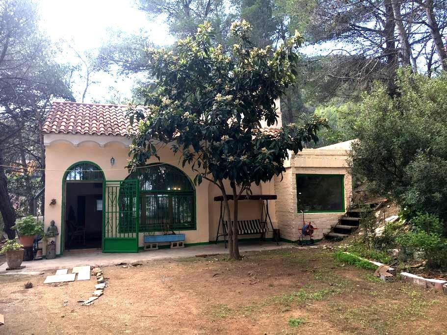 Habitación para 4 cerca a Monserrat - El Castell de Cabrera - Rumah