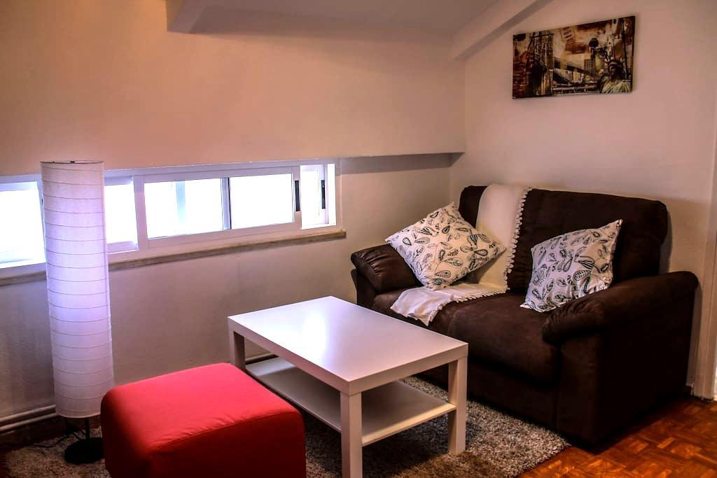 Ático acogedor en el centro de Compostela - Saint-Jacques-de-Compostelle - Appartement en résidence