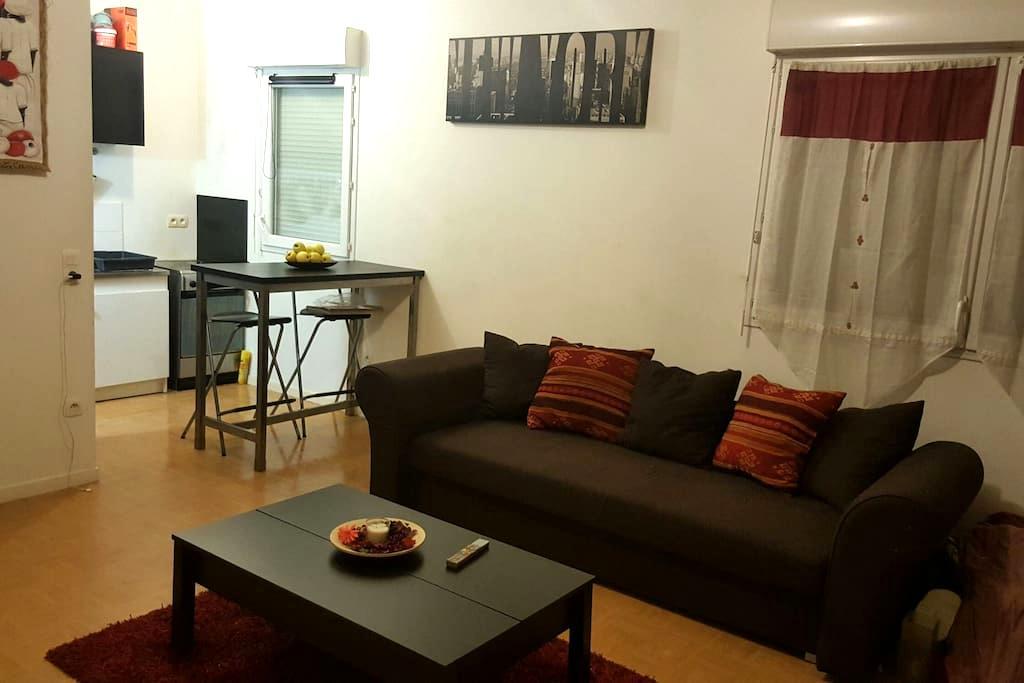Deux piéces en rez de jardin - Montévrain - Apartment