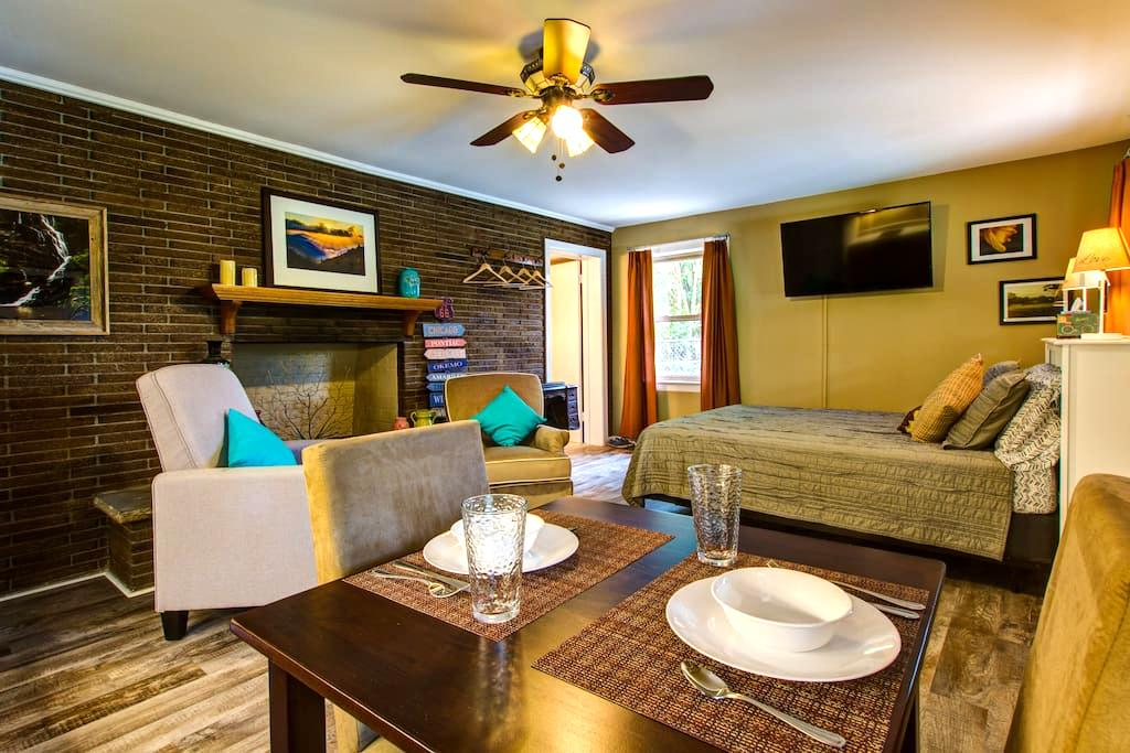 Cute as a button, studio apartment - Nashville
