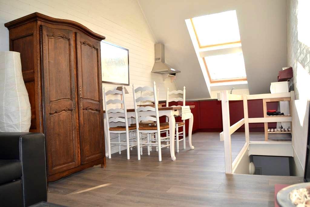 GeWoonWeg sportief & groen logeren - HOFSTADE - Apartamento