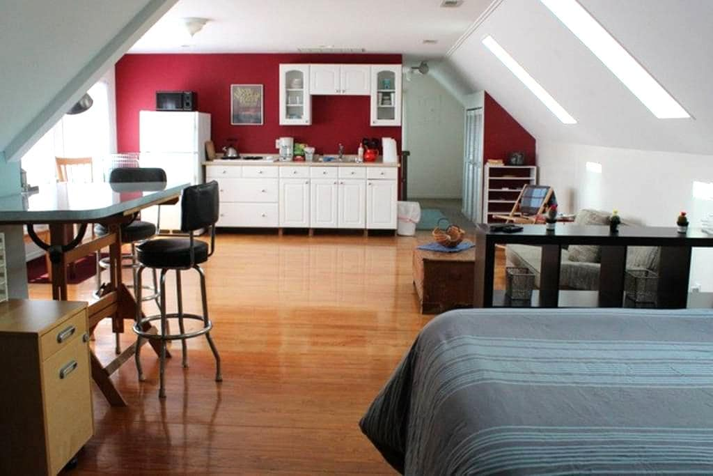 Upper Studio in Hamtramck - Hamtramck - Appartement