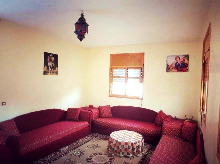 Traditional Moroccan apartment - Salé - Lejlighed