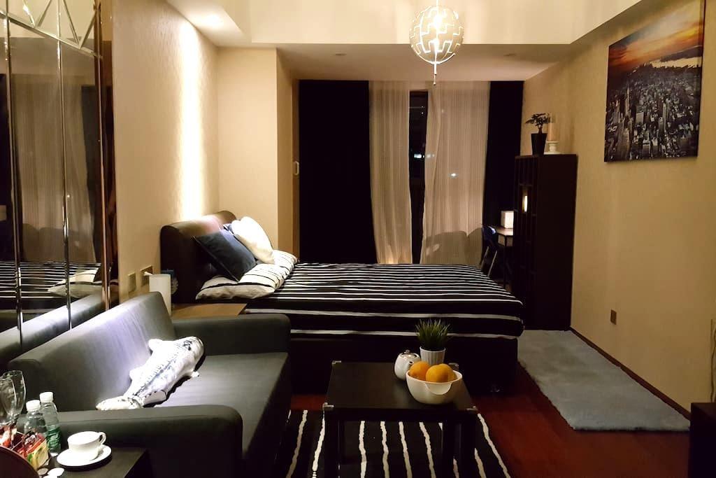 2016-羅湖中心 Luxury酒店公寓(每入住2晚,贈送價值¥299原裝進口意大利起泡酒一支) - Shenzhen - Apartamento