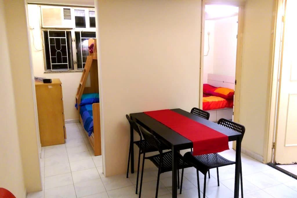 Room in mong kok apartment 5 min from mtr apartamentos - Apartamentos en hong kong ...