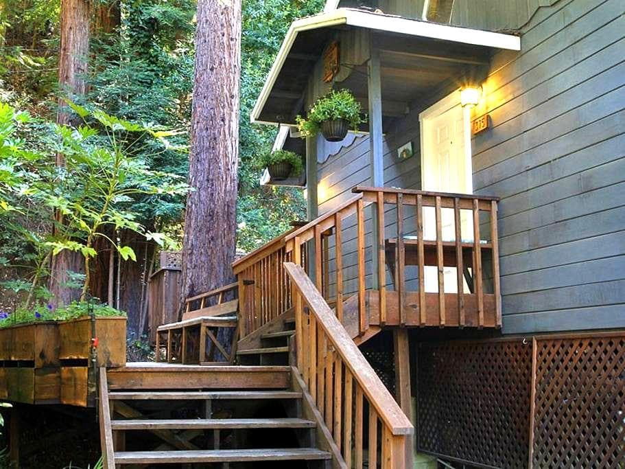 CLOUD 9 Creekfront, Redwoods, H/T - Cazadero