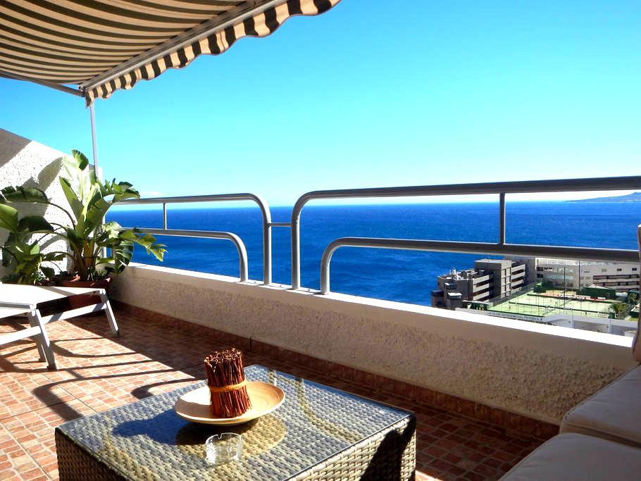 VISTA MAR: vistas, tranquilidad, wifi y parking - Tabaiba