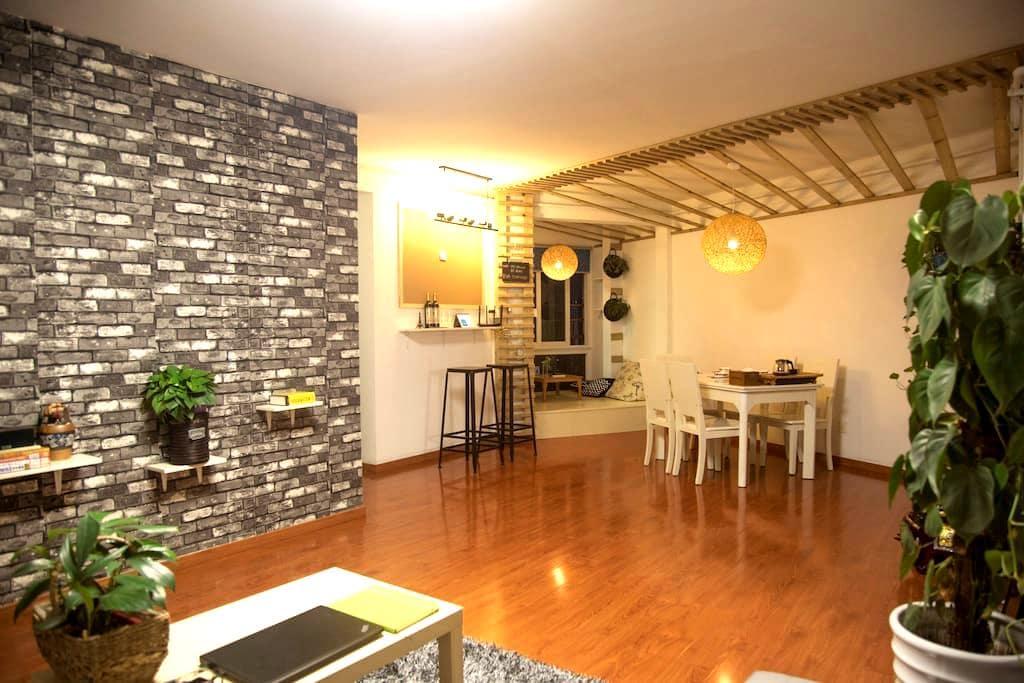 头头的家庭旅馆(交友并分享旅游经验,不止是住宿 wx+tt480891 - Nanjing - Flat