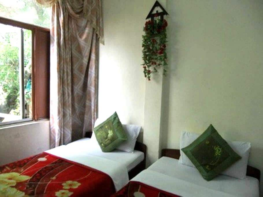 Viet Family Homestay two twin-sized beds Room 102 - Hanói - Bed & Breakfast