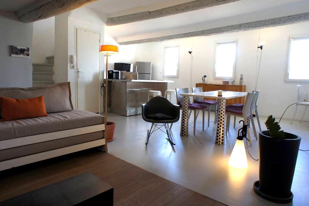 Duplex sous les toits - Vieil Aix - Aix-en-Provence - Loft