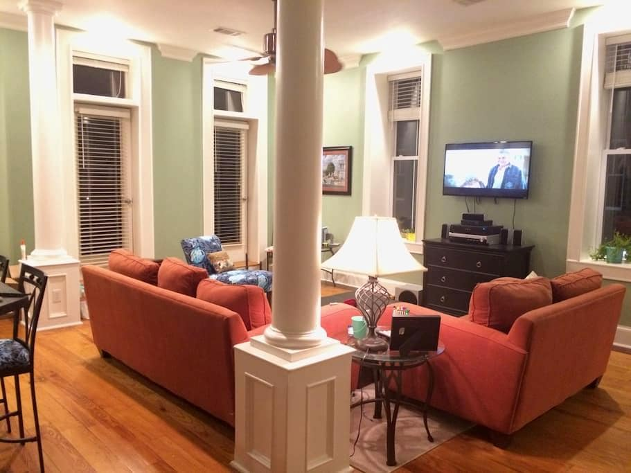 Spacious Downtown Apartment - Searcy - Byt