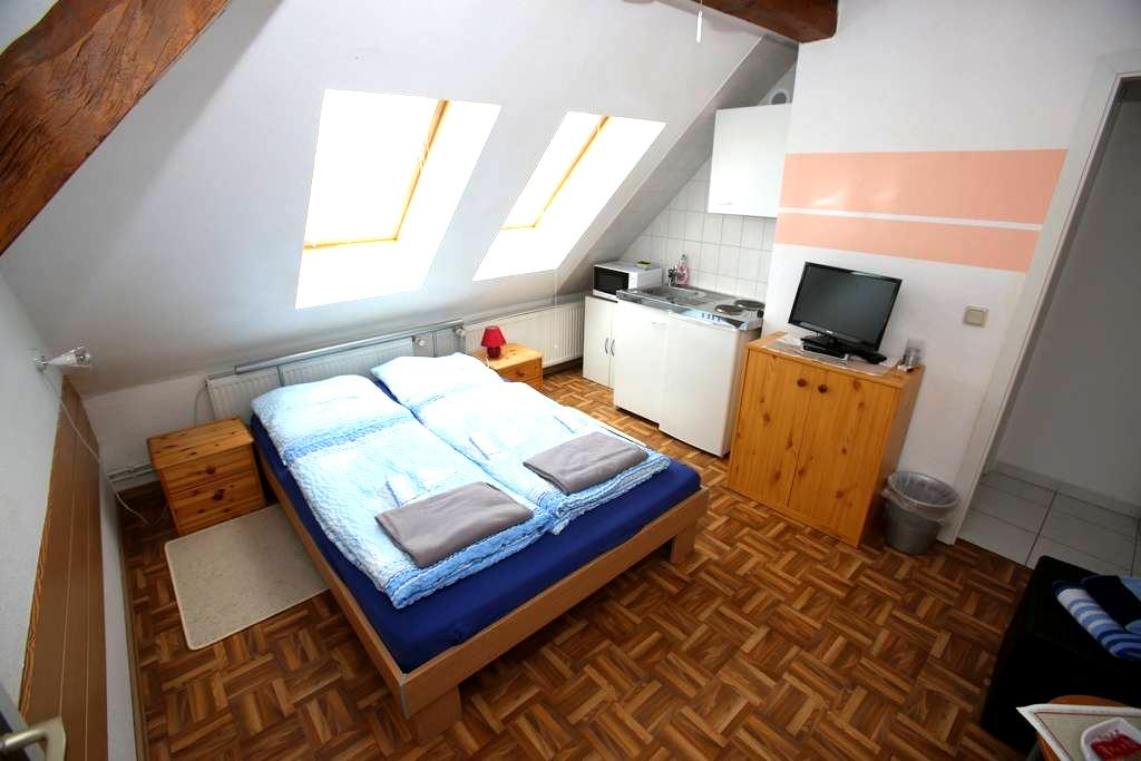 Wohnung 3 auf Wassergrundstück am Radwanderweg - Rathenow - Huoneisto