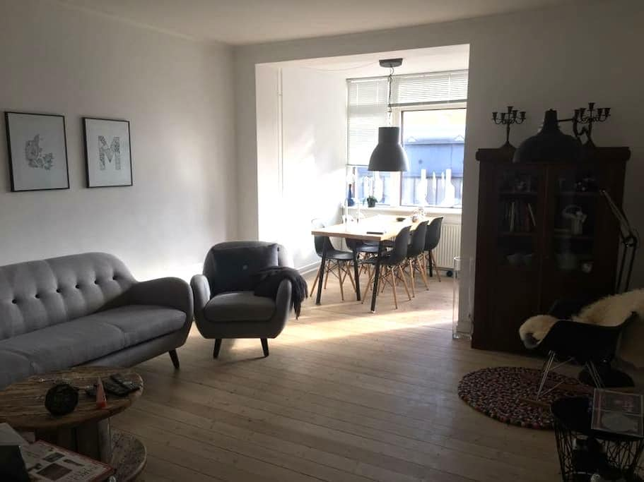 Location, lovely apartment close to the city - København - Lejlighed