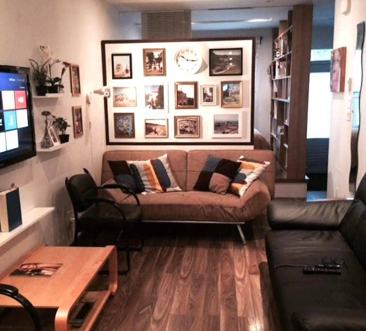 Bel appartement RDC, Plateau, Parc Lafontaine - Montréal - Lakás