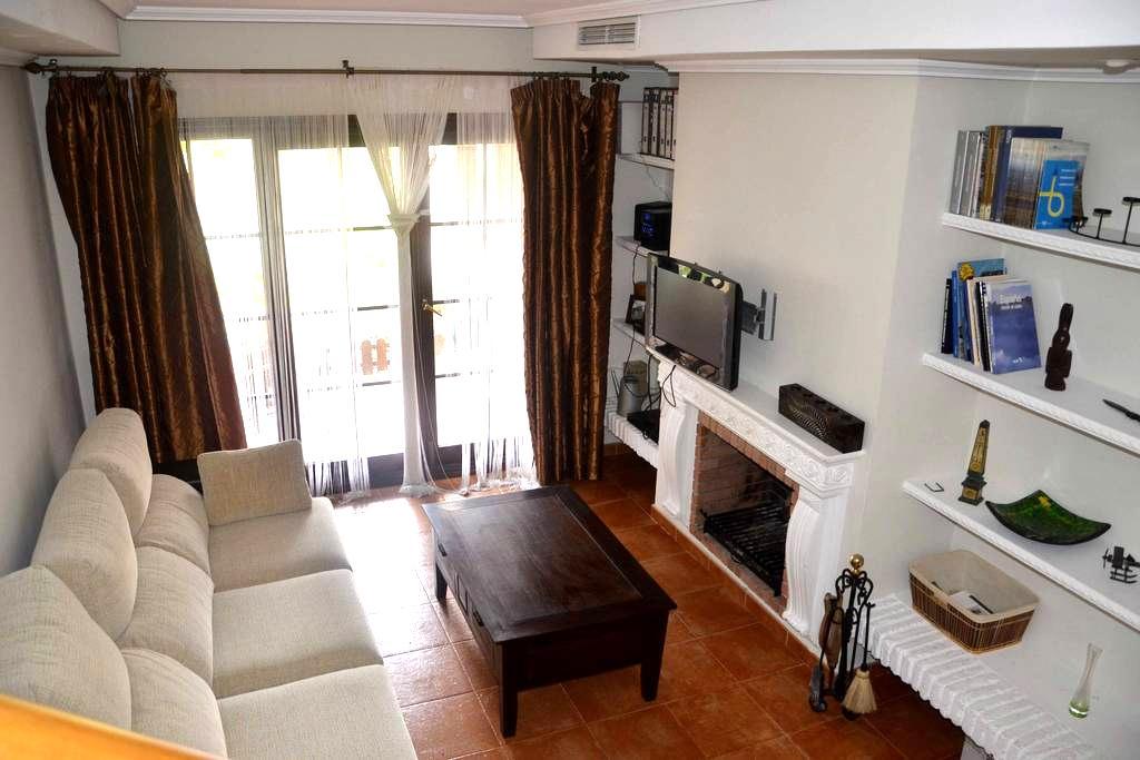 PRECIOSO BUNGALOW FRENTE AL MAR (Explot. hotelera) - San Fernando - บ้าน