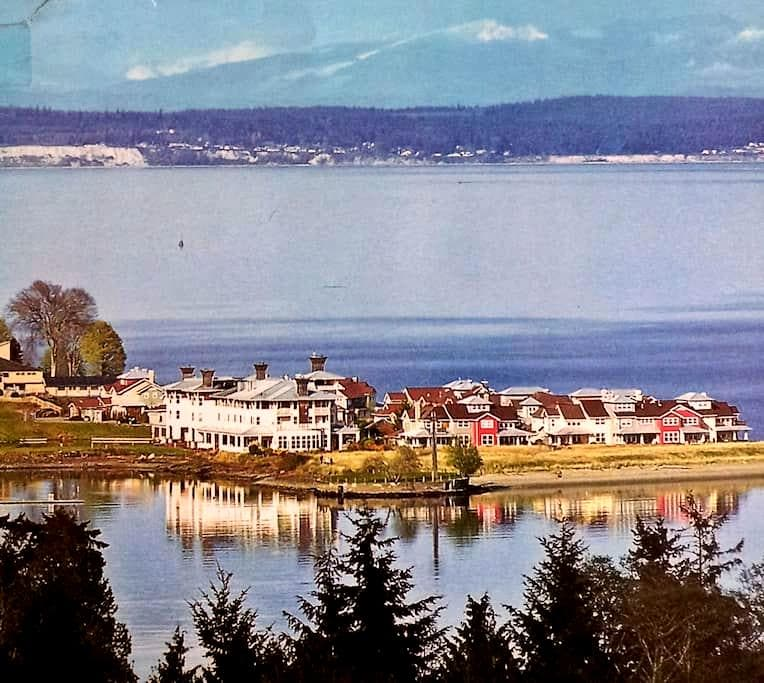 Splendid View from Villa by the Bay - Port Ludlow