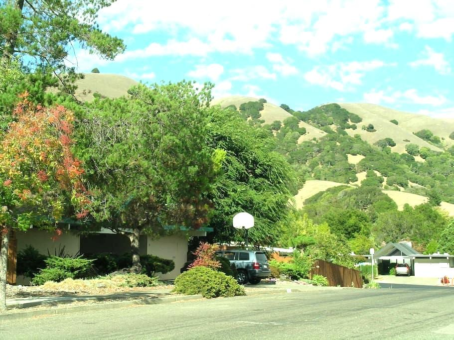 Private Entrance to Suite in scenic Lucas Valley - San Rafael - Haus