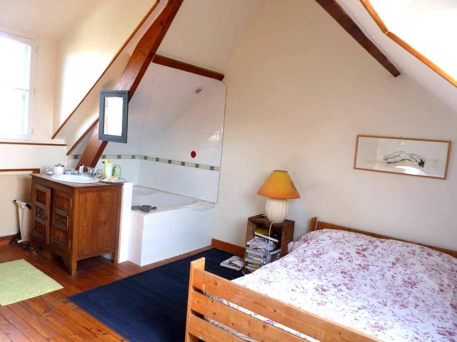 Chambre spacieuse et lumineuse - Saint-Malo - Huis