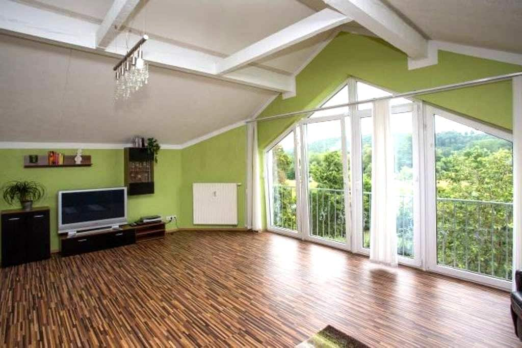Wellness Appartement Mainblick - Michelau in Oberfranken - Daire