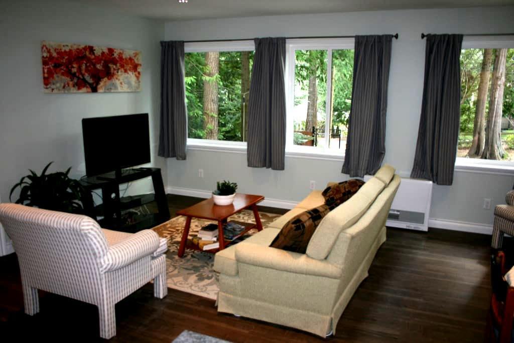 Private Loft in Greater Victoria - North Saanich - Apartemen