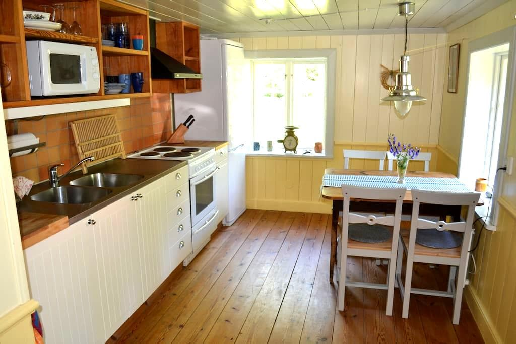 Beautiful cottage - countryside - Läsaryd - Huis