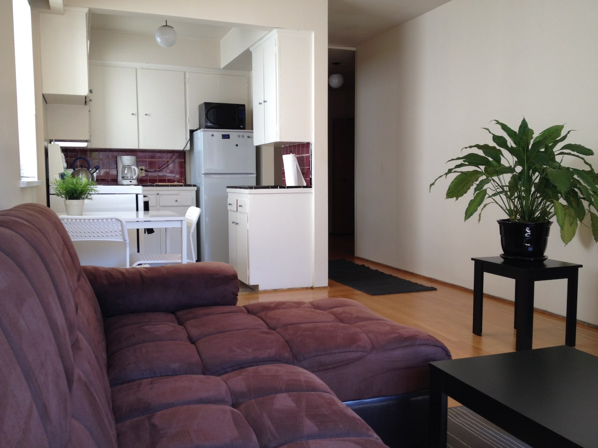 One bedroom apartment DT Vancouver