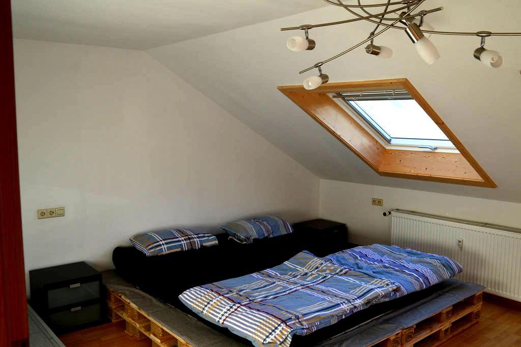3 -Zimmer Dachgeschoss Wohnung - Ammerbuch - Lejlighed