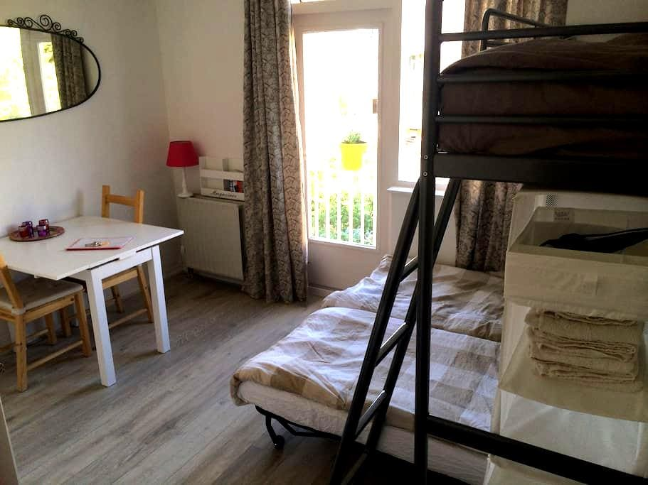 Studio with kitchen and balcony - Amsterdam - Appartement