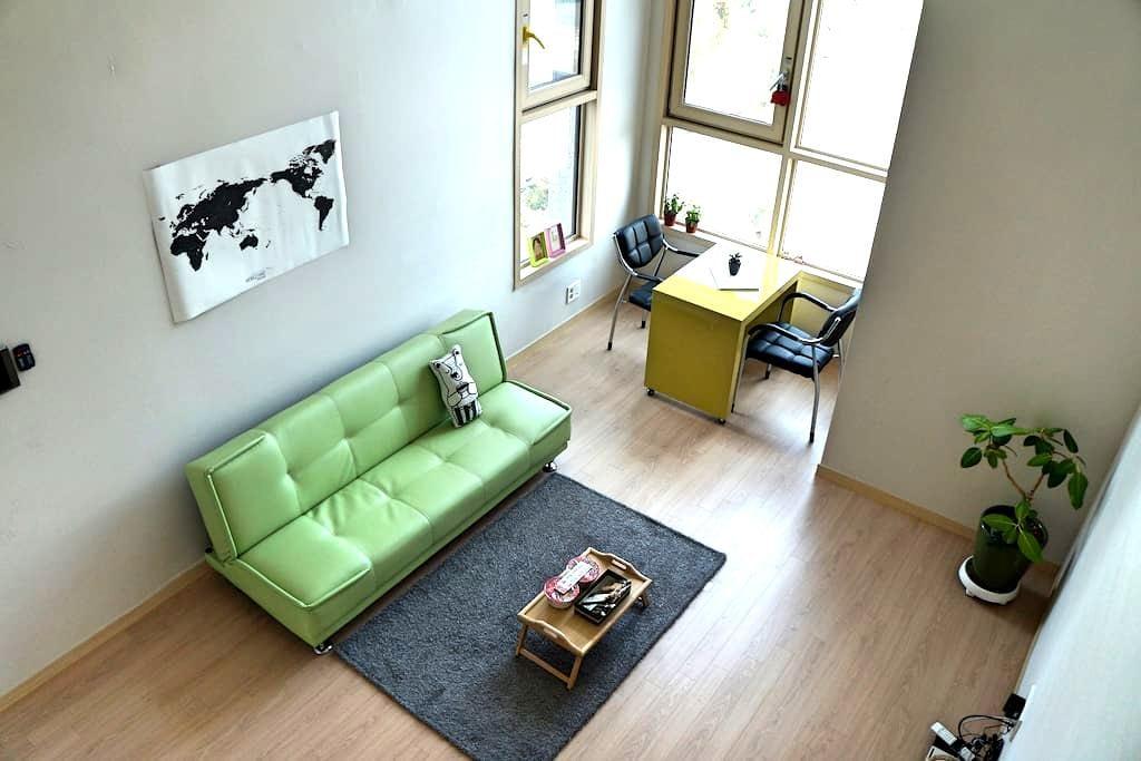 [청주슈퍼호스트]위치좋은 호텔같은 복층집 nice location,clean,new - 청주시, 충청북도, KR - Appartement