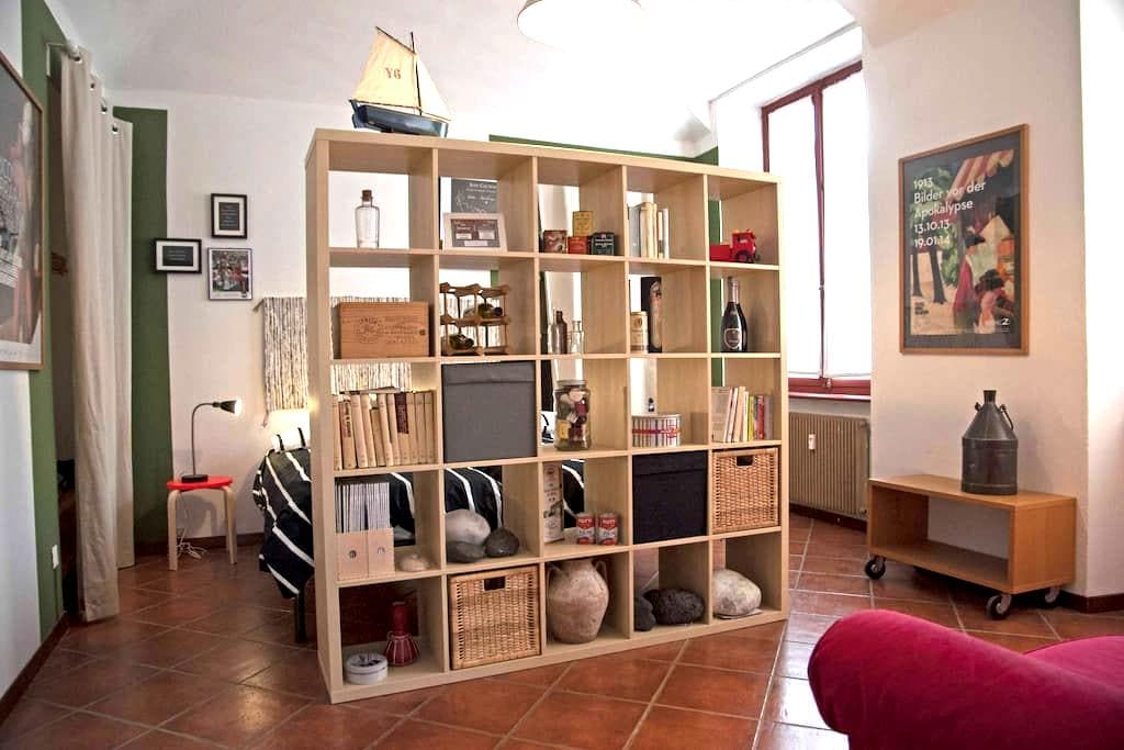 Biella downtown, cheerful and bright two-room flat - Biella - Apartamento