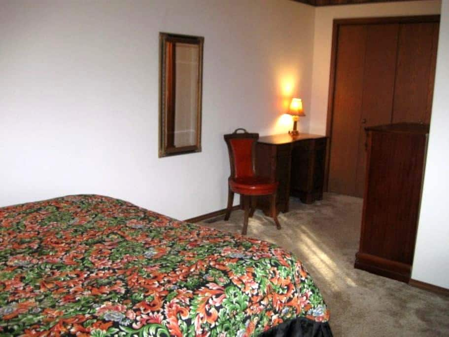 1 bedroom suite 15 minutes from ND - Mishawaka