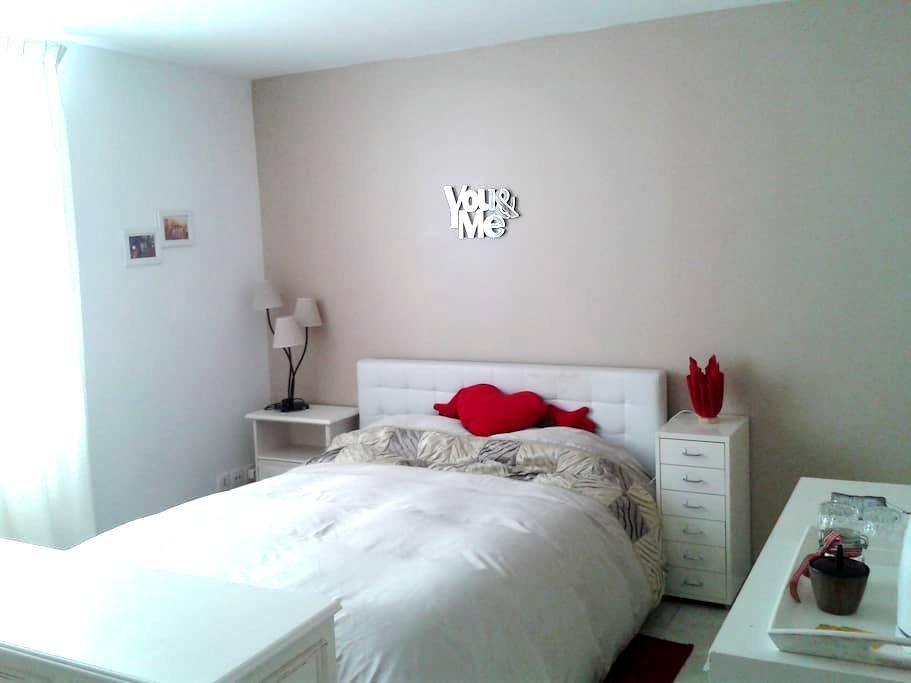 Chambre spacieuse et cosy (Accès cuisine inclus ) - Liessies - Casa