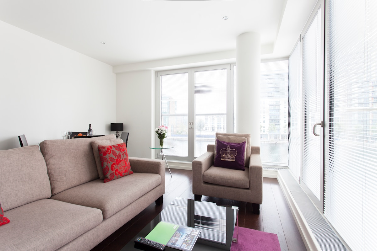 Canary Wharf 2 Bed Apartment-IV