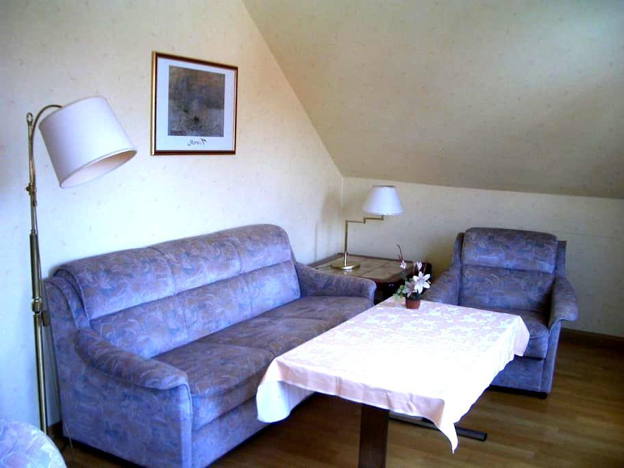 Möblierte 3Zi Wohnung. Bad, Küche, H6 - 2.OG - Friedrichsdorf - Daire