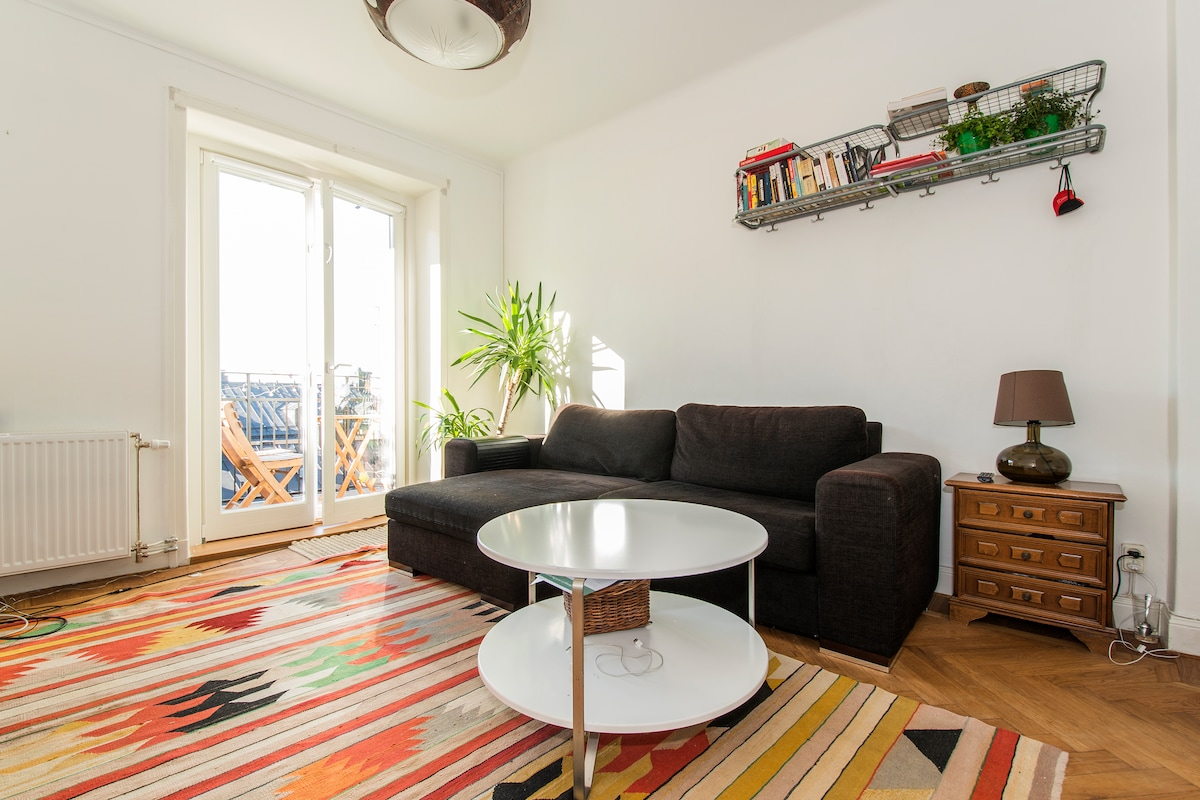 Studio, in the heart of Södermalm