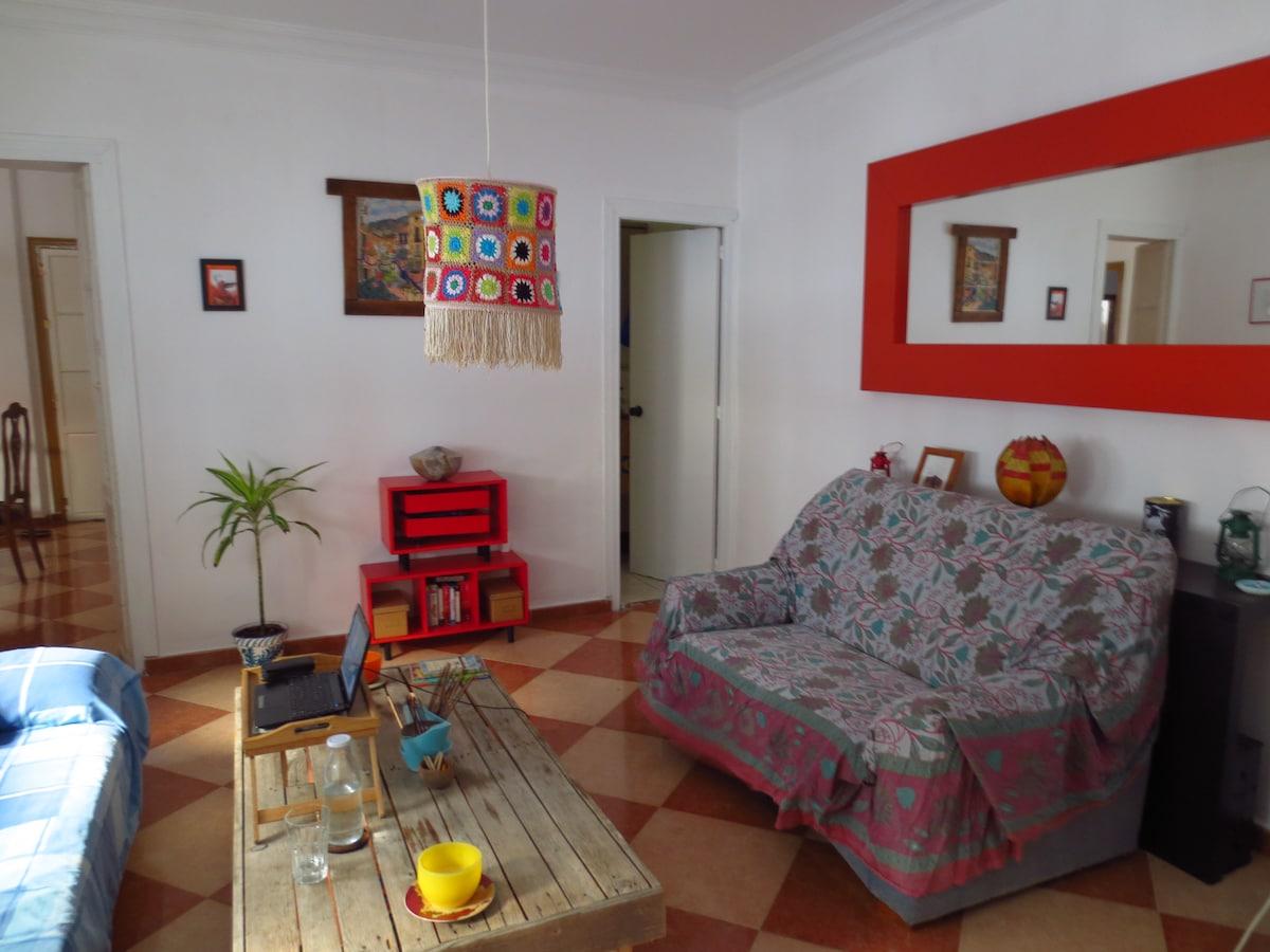 salón de estar/living room