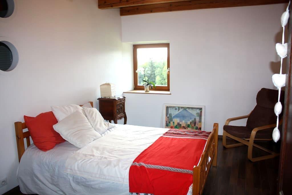 chambre dans ferme en pleine nature - Le Tholy - Rumah