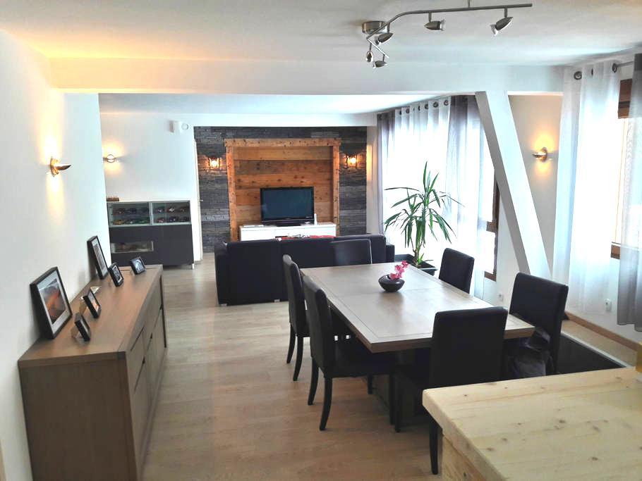 Spacieux appartement pour vos vacances en Alsace - Soultzeren - Apartament