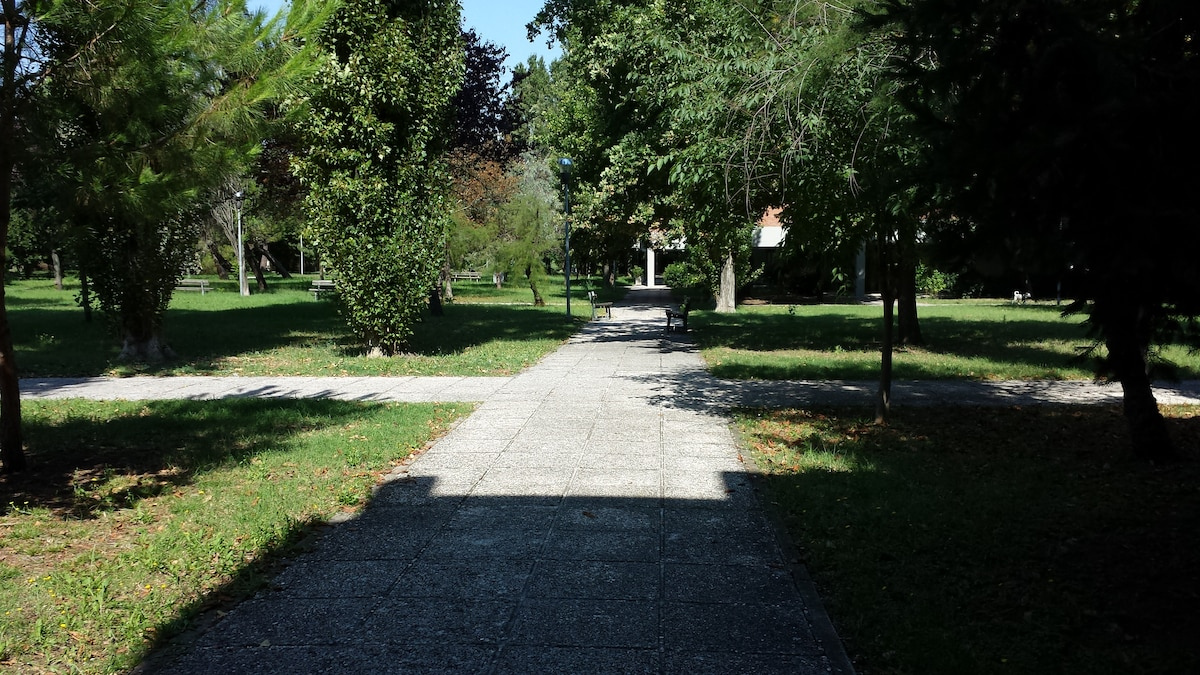 Accogliente casa sul parco
