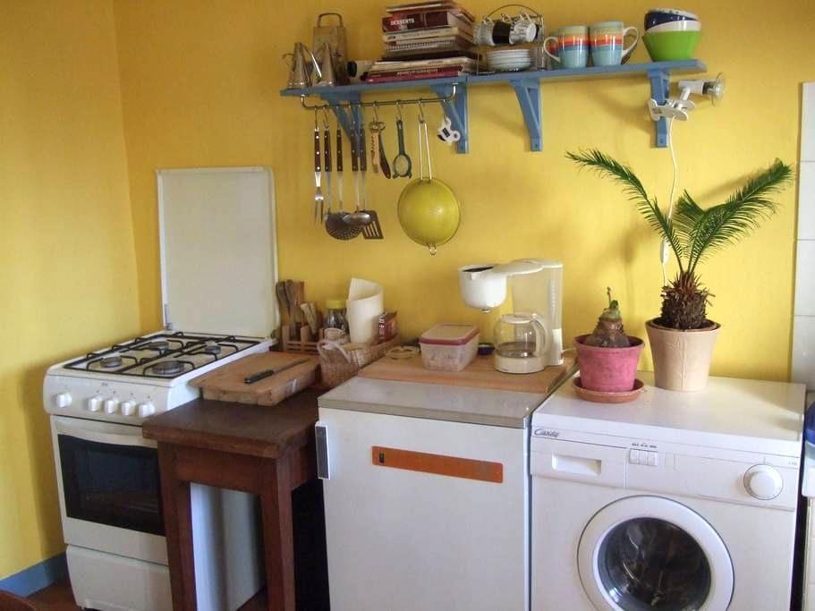 Chambre, cuisine et sdb privées, maison agréable - Tuluza - Dom