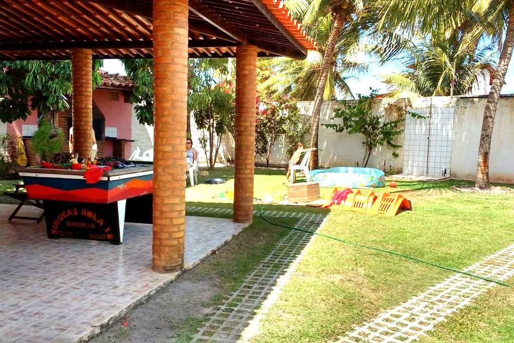 Casa de praia - Ilha da Croa - Barra de Santo Antônio