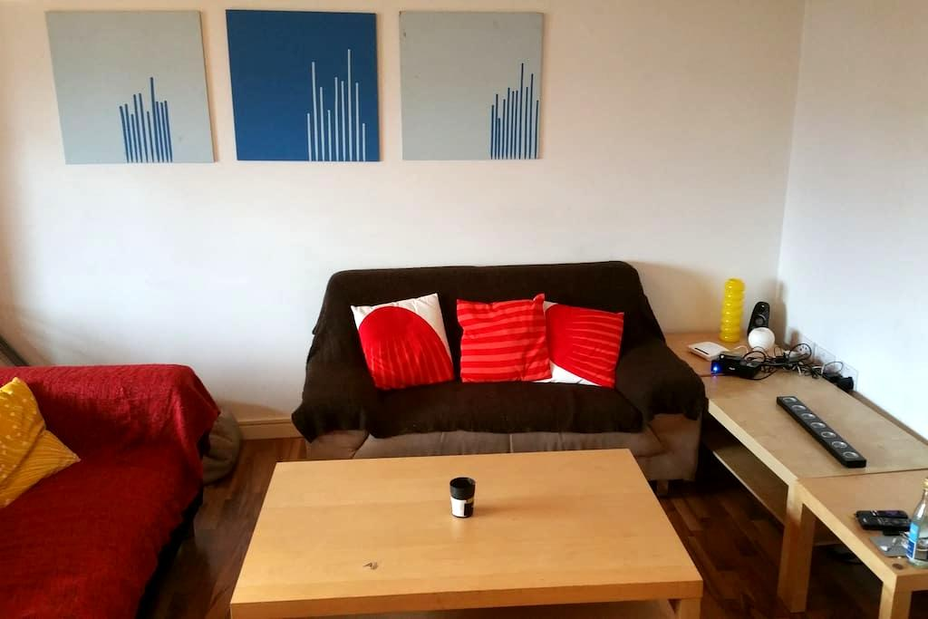 Cheapest flat at the city center - Sofa - Manchester - Appartement