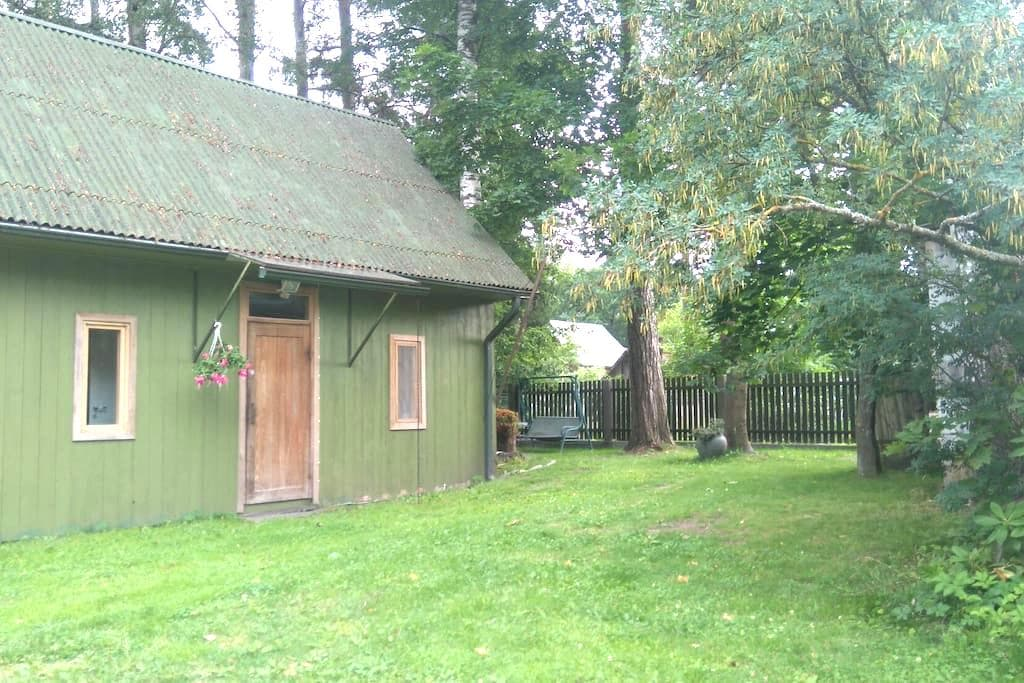 Lovely cottage with a garden in peaceful place - Jūrmala - House