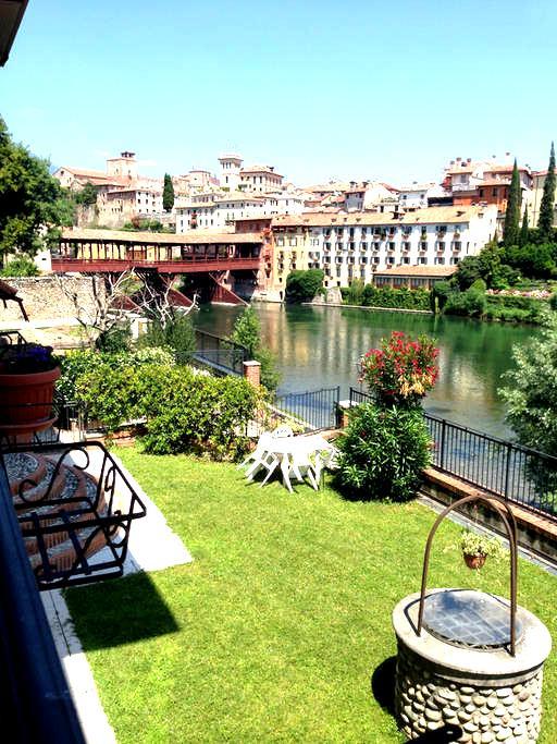 Beautiful Room in front of Ponte Vecchio - Bassano del Grappa - อพาร์ทเมนท์