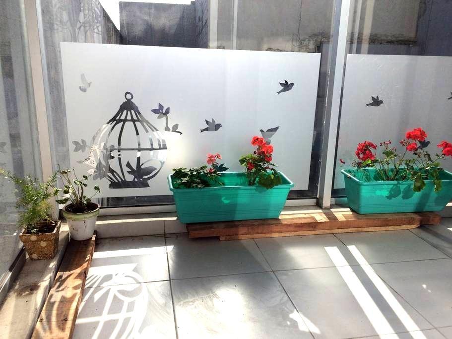 Swimming  pool & balcony Studio in Tango Palermo - Buenos Aires - Apartament