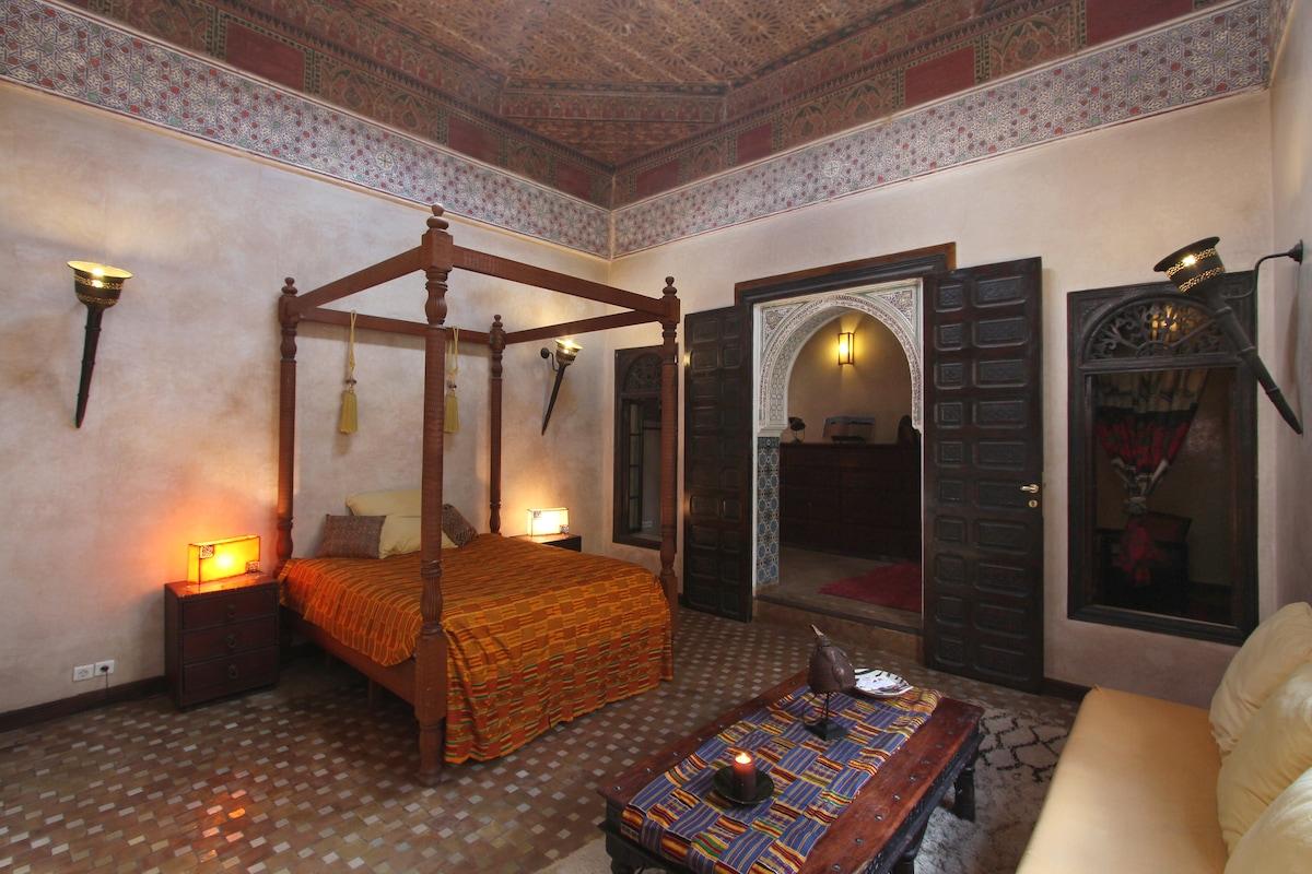 Beautiful cosy Riad in the medina