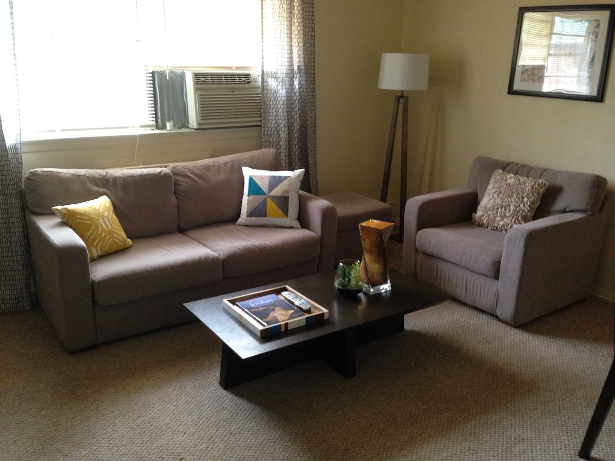 Relaxing 1BR NJ Apt (NYC 15-20min)
