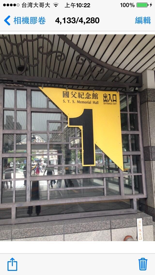 台北國父紀念館捷運小豪宅Taipei MRT -Ruby's apt