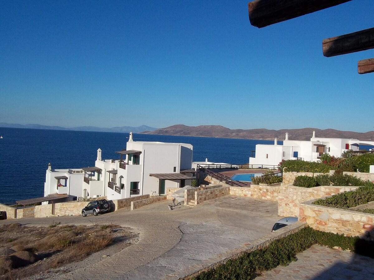 Beautiful view near Athens Lavrio